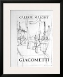 Galerie Maeght, 1951 Posters by Alberto Giacometti