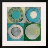 Aquamarine Framed Giclee Print by  Sebastian