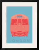 London - Piccadilly Tube Prints by Ben James