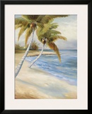 Beach Haven Framed Giclee Print by Marc Lucien