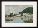 Port Marly Art by Alfred Sisley