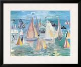 Regatta Prints by Raoul Dufy