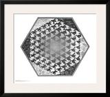 Verbum Posters by M. C. Escher