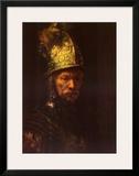 Man with Helmet Prints by  Rembrandt van Rijn