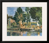 The Park Prints by Paul Cézanne