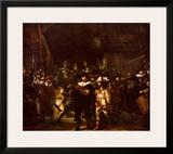 Night Watch Posters by  Rembrandt van Rijn