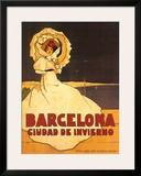 Barcelona Prints by Frederick Daniel Hardy