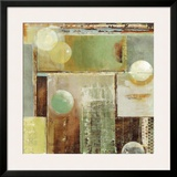 Ice and Bubbles II Prints by Carmen Dolce