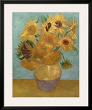 Sunflowers, c.1889 Poster by Vincent van Gogh
