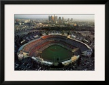 Dodger Stadium - Los Angeles, California Art by Mike Smith