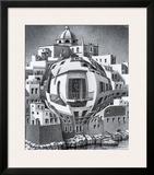 Balcony Prints by M. C. Escher
