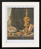 Still Life with Tall Golden Cup Prints by Pieter Claesz