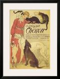 Clínica Cheron, em francês, cerca de 1905 Arte por Théophile Alexandre Steinlen