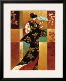 Sakura Framed Giclee Print by Keith Mallett