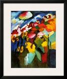 Murnau-Garden II, 1910 Posters by Wassily Kandinsky