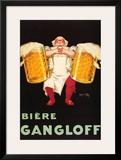 Biere Gangloff Print by Jean D' Ylen