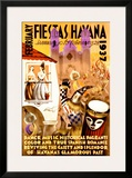 February Fiestas in Havana, 1937 Posters