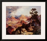 Clouds in the Canyon Prints by Thomas Moran