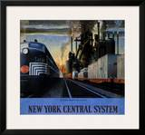 New York Central System, Along the Water Level Route Posters by Leslie Ragan