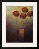 Flowers for Me Framed Giclee Print by Jutta Kaiser