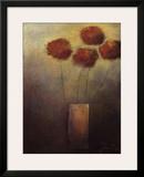 Flowers for Me Framed Giclee Print by Jutta Kaiser