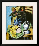 Still Life with Flowers Posters by Max Beckmann