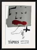 Expo Galerie Lelong 94 Posters by Antoni Tapies
