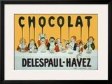 Chocolat Delespaul Havez Posters