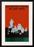 Expo Musée GalIIéra Prints by Jean Jansem