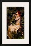 Ophelia Prints by John William Waterhouse