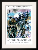 Exposition Galerie Saint Germain Posters by André Marchand