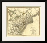 New York, Vermont, New Hampshire, c.1806 Prints by John Cary