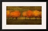Red Trees II Prints by Seth Winegar