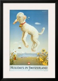 Holidays in Switzerland Posters by Donald Brun