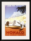 7th Grand Prix Automobile, Monaco, 1935 Prints by Geo Ham