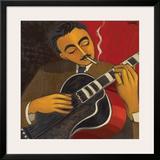 D'Jango Framed Giclee Print by Marsha Hammel