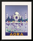 Agra Taj Mahal c.1937 Framed Giclee Print by Gobinda Mandal