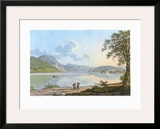 The Lake Traunsee Prints by Jakob Alt
