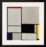 Composition No. 2 Art by Piet Mondrian