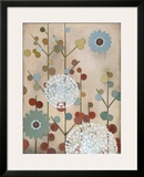 Mod Blossom Posters by Sally Bennett Baxley