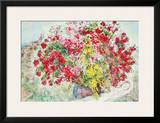 Jardins de St.Paul, 1973 Prints by Marc Chagall
