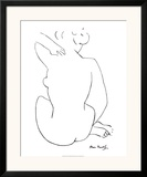 Black Sketch Print by Henri Matisse