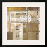 Daily Business Framed Giclee Print by Alec Parker