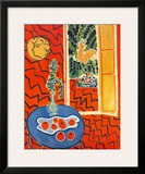 Red Interior, Still Life on Blue Table, c.1947 Print by Henri Matisse
