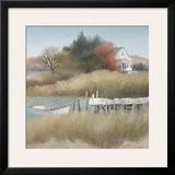 Beechwood Landing Framed Giclee Print by Albert Swayhoover