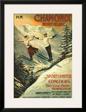Chamonix Prints by Francisco Tamagno