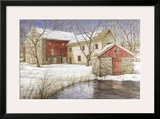 The Old Spring House Prints by Dan Campanelli