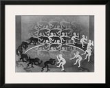 Encounter Prints by M. C. Escher