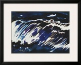 Rushing Water, 1963 Prints by Siegward Sprotte
