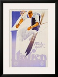 Winter Sports in Italien Prints by Franz Lenhart